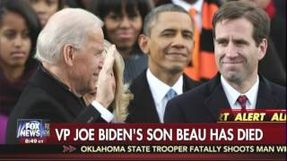 Joe Biden Announces Death of His Son, Beau Biden, Due to Brain Cancer