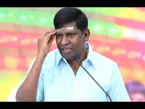 Vadivelu's funny answers to Press questions on Sagaptham and Vijay's Puli    Eli Movie Comedy Speech