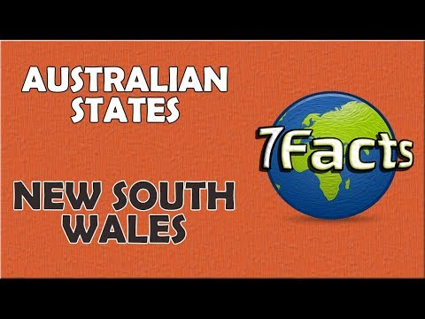 Some Unique Facts about New South Wales