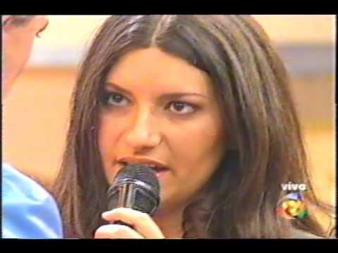 Laura Pausini - Programa Fábio Jr., Ago/2000