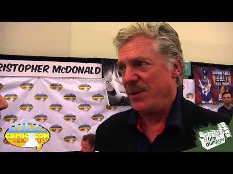 2015 Niagara Falls Comic Con  Christopher McDonald