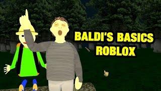 BALDI'S BASICS ROBLOX PRINCIPAL CAMP UPDATE ROLEPLAY | Baldi's Basics Roblox