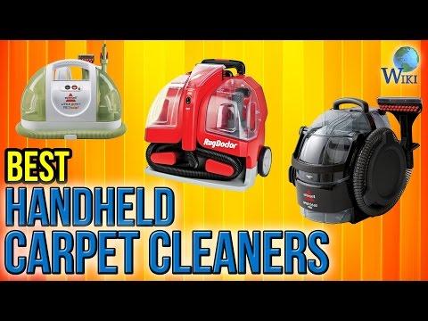 8 Best Handheld Carpet Cleaners 2017