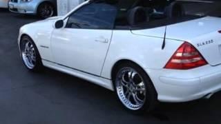 2001 Mercedes-Benz SLK-Class SLK230 Convertible - Santa Ana, CA