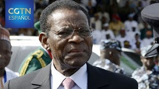 Entrevista con el presidente de Guinea Ecuatorial