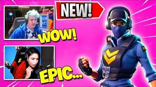 STREAMERS REACT TO *NEW* WAYPOINT SKIN IN ITEM SHOP! (Fortnite Stream Highlights)