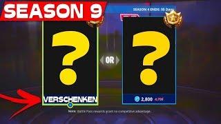 SEASON 9 BATTLE PASS GET FREE?! | Fortnite Season 9 Infos