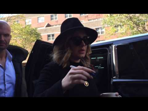 ADELE LEAVING HER HOTEL IN TRIBECA NYC