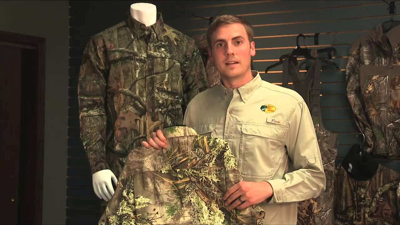 5c506cfb1789a RedHead Silent-Hide Shirts and Pants for Men at Bass Pro Shops - YouTube