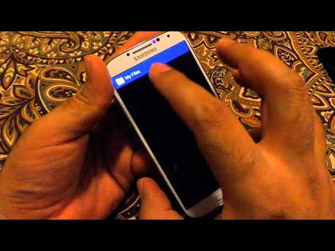 Samsung Galaxy S4 - Using USB OTG Cable