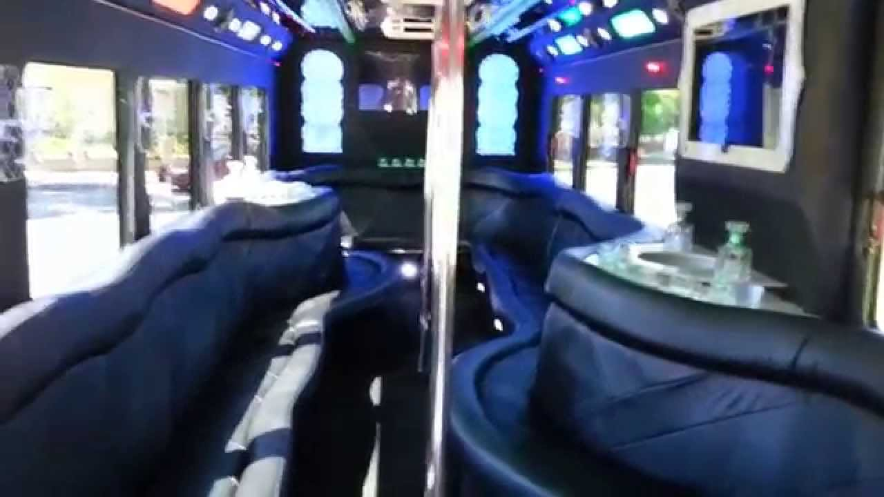 2010 Ultimate 35 passenger Party bus for sale #3554 - YouTube