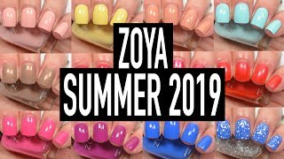 Zoya - Barefoot (Summer 2019) | Swatch and Review