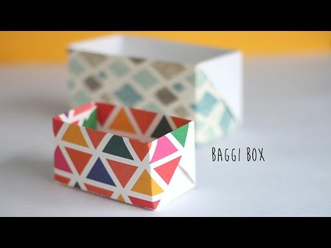 How to make: Baggi Box