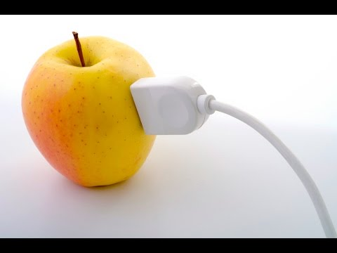 How to Generate Electricity with only an apple!