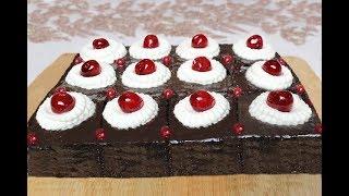 Bol Çikolata Soslu Browni Tarifi - Islak Kek Tarifi - Brownie recipe - Çikolatali Kek - Pasta Tarifi