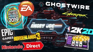 AJS News - EA's World Record, FIFA Boss Promoted, Nintendo Direct, NBA2K20 Review Bombed!