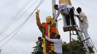Rich tribute paid to former MLA Erra Satyam on his death anniversary in Mahbubnagar.