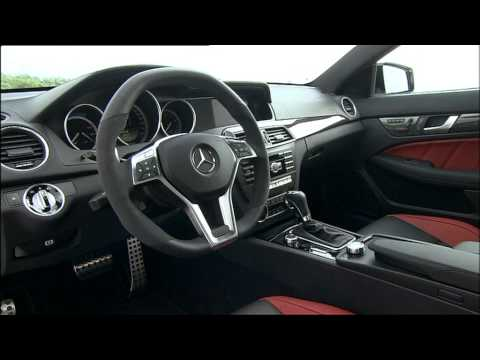 2012 Mercedes Benz C63 Amg Coupe Interior And Exterior Youtube