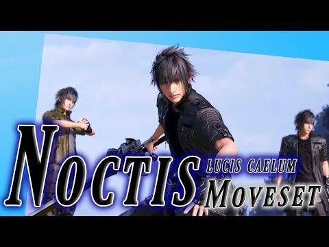 Noctis Lucis Caelum Moveset + Detail - Dissidia Final Fantasy NT (DFFAC/DFFNT)