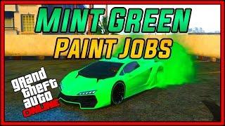 """GTA 5 Online  """"Modded Crew Color!"""" Top 3 Rare Paint Job & Color Schemes!!"""