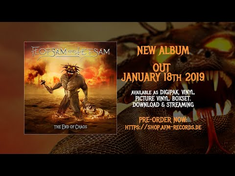 FLOTSAM AND JETSAM - Recover (2018) // Official Audio Video // AFM Records