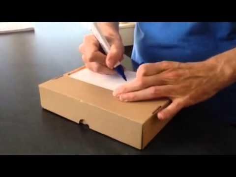 Paket Beschriften