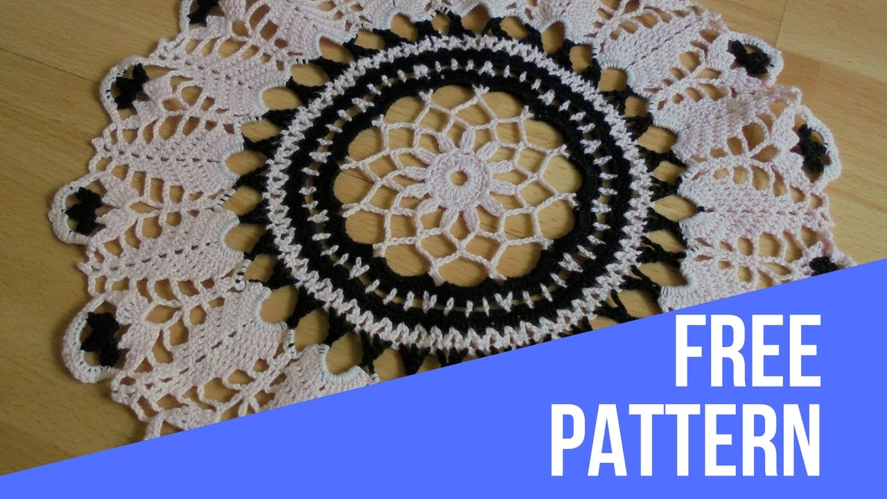 Round doily how to crochet patternhow to crochet doilycrochet round doily how to crochet patternhow to crochet doilycrochet tutorial crochet diy bankloansurffo Image collections