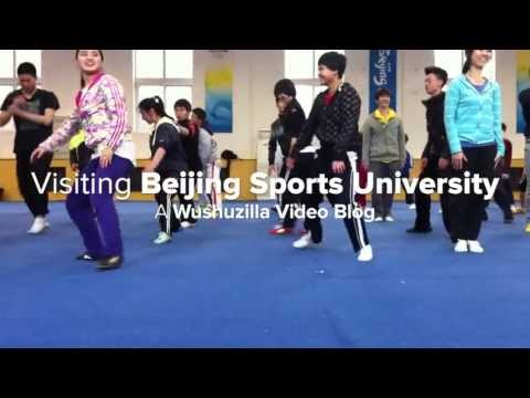 Visiting Beijing Sports University (Video Blog)