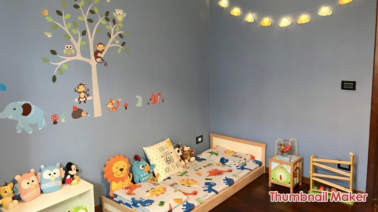 Cameretta Neonato Montessori : Tour cameretta montessori room tour youtube
