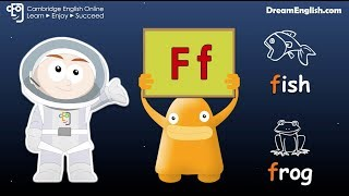 ABC Phonics in Space: Mission FGHIJ | Learn English Flash Cards
