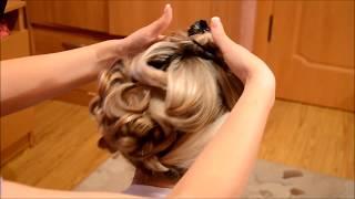 видео Свадебные прически своими руками