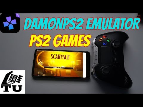 Scarface Android Gameplay DamonPS2 Pro Emulator/Snapdragon 835 Xiaomi Phone PS2 GAMES