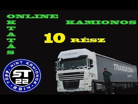 37.A kamionos.SVÁJCI VÁMOLÁS.Betanítás kezdőknek.10.rész.