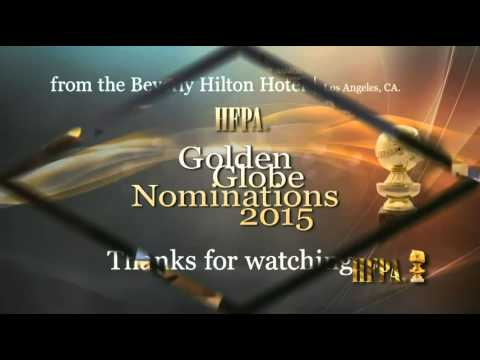 72nd Golden Globe Awards Nominations 2015