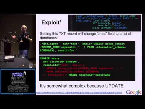 t401 Secrets of DNS Ron Bowes