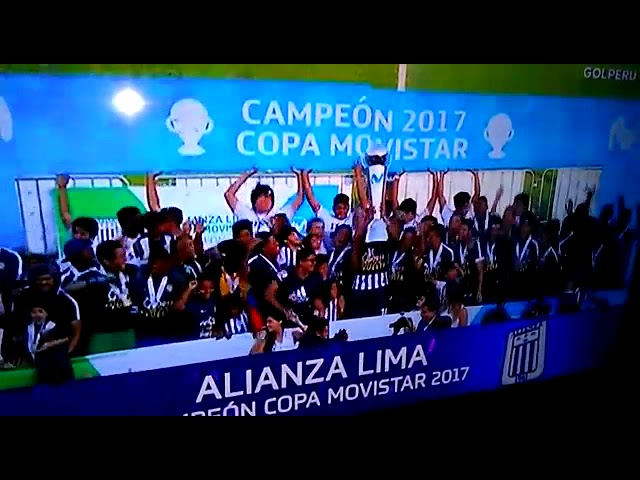 Alianza Lima campeon 2017