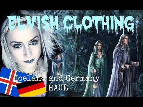 ZOMBIES! (Virtual ones.) Iceland and Germany Haul; Elven Goodness.