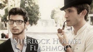 Sherlock Holmes Flashmob | Flashmob Azerbaijan