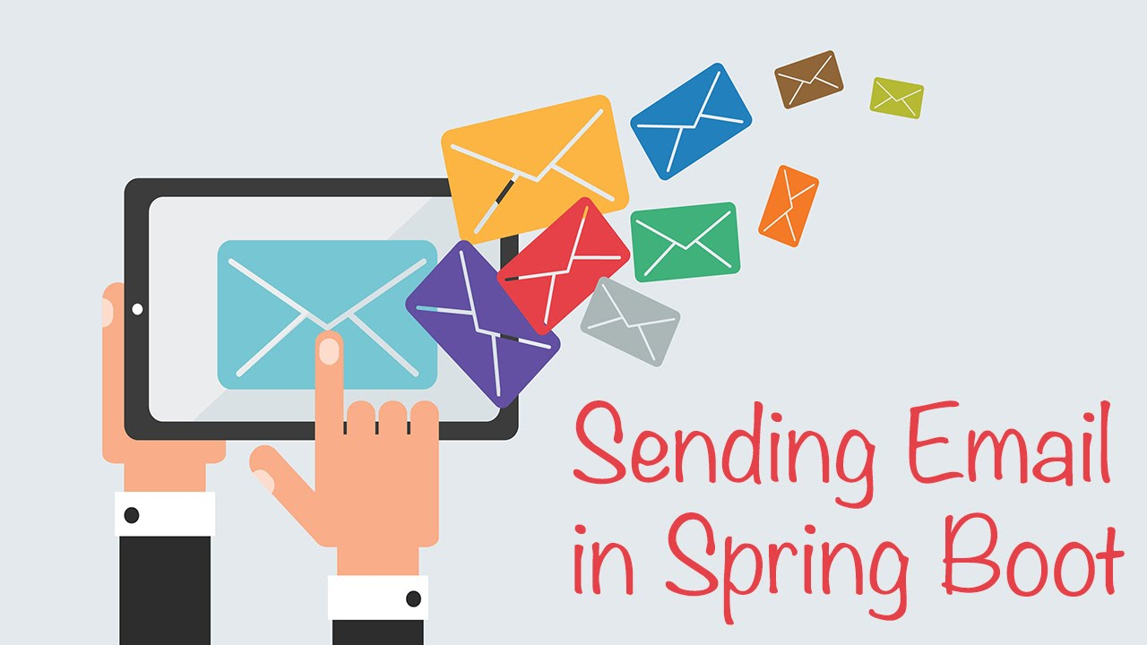 Sending Email In Spring Boot Youtube