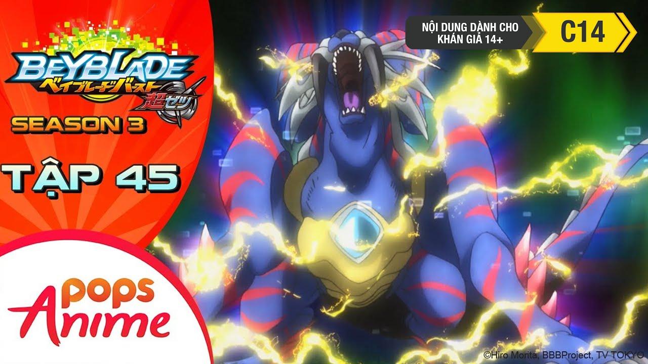 [S3] Vòng Xoay Thần Tốc - Tập 45 - Khóa Huấn Luyện Siêu Tốc! Sống Sót Tại Savanna! - Beyblade Burst