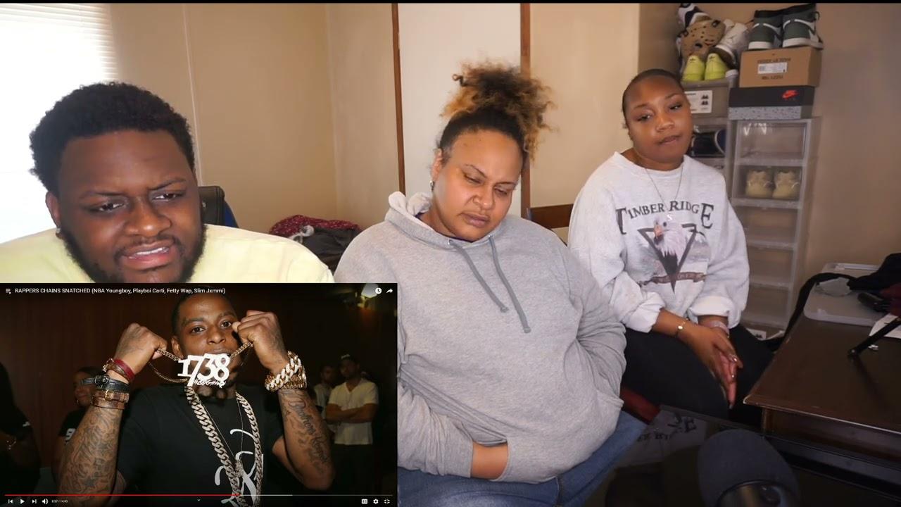 RAPPERS CHAINS SNATCHED (NBA Youngboy, Playboi Carti, Fetty Wap, Slim Jxmmi) | REACTION