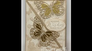 Butterfly Easel Card With Dawn