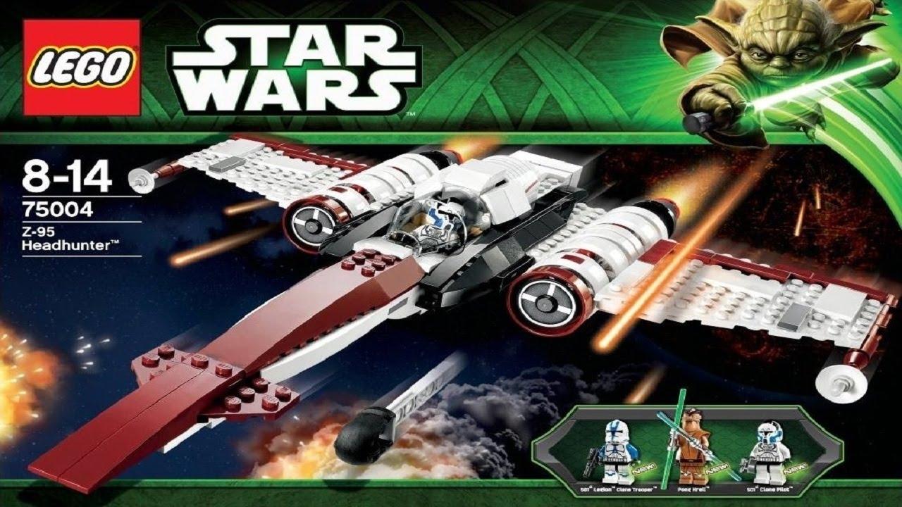 Lego Star Wars Instructions For 75004 Z 95 Headhunter Youtube