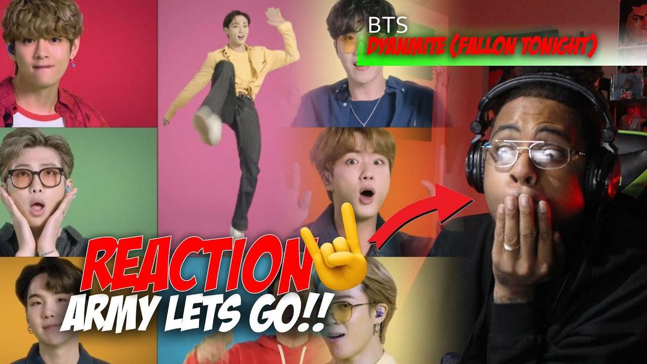 BTS, Jimmy Fallon and The Roots Sing Dynamite || Reaction