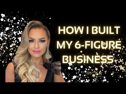 How I Built My 6 Figure Business | Beauty Business Mentor
