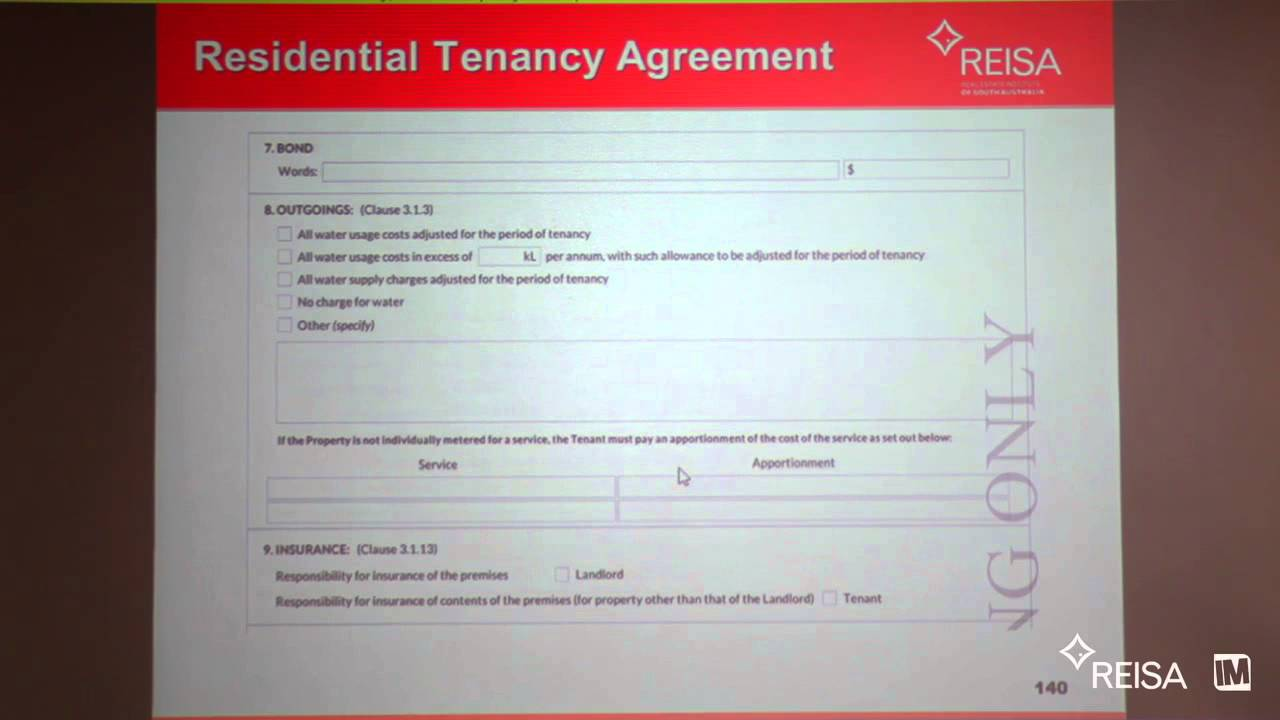 Reisa Tenancy Agreement Youtube