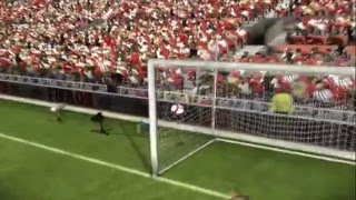 Fifa 09 Ronaldo vs Messi