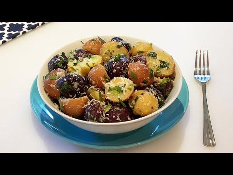 salade-de-pommes-de-terre-🥔-recette-facile-et-rapide