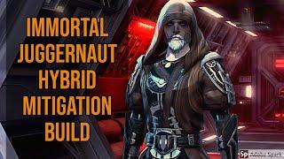 [SWTOR 6.1 PvP] Immortal Juggernaut 4v4 with Hybrid Mitigation Build
