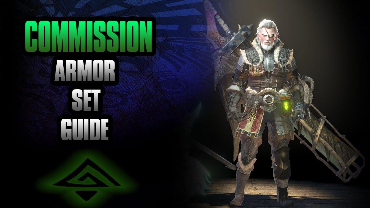 Monster Hunter World: Commission Armor Set guide | Great ...